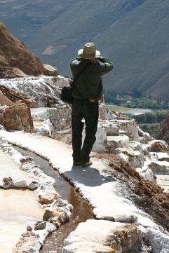 Salt Mine, Peru